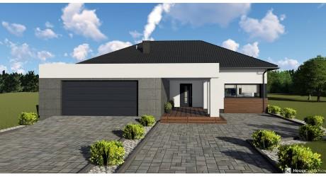 Dom Onyks - Projekty domów klasycznych