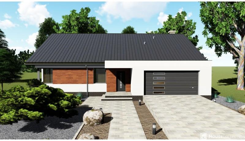 Dom Turkus - Projekty domów klasycznych