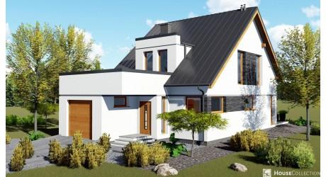 Dom Santos - Projekty domów klasycznych