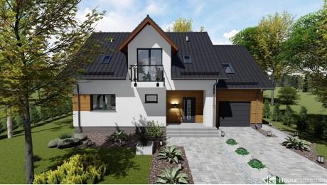 Dom nad Strugą - Projekty domów klasycznych