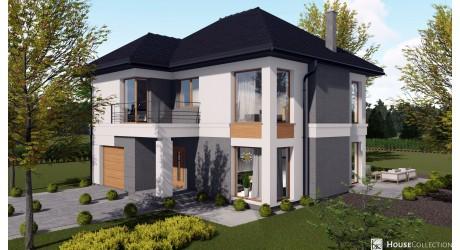 Dom Toledo - Projekty domów nowoczesnych