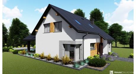 Dom nad Angarą - Projekty domów klasycznych