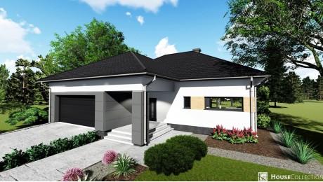 Dom Ametyst - Projekty domów klasycznych