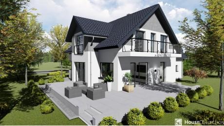 Dom nad Nidą - Projekty domów klasycznych