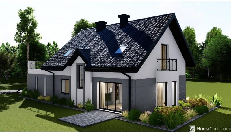 Dom Lagos - Projekty domów nowoczesnych