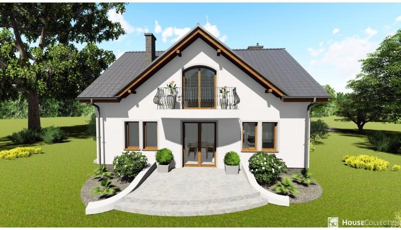 Dom Sewilla - Projekty domów klasycznych