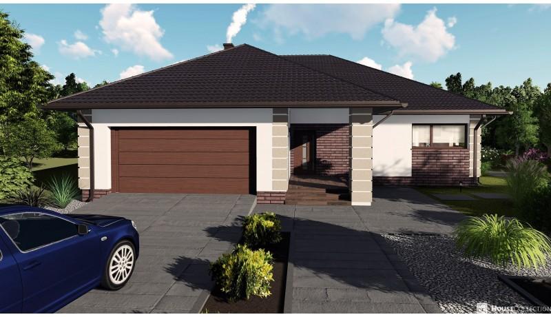 Dom Ametyst 2 - Projekty domów klasycznych