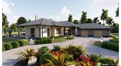 Dom Montana - Projekty domów nowoczesnych