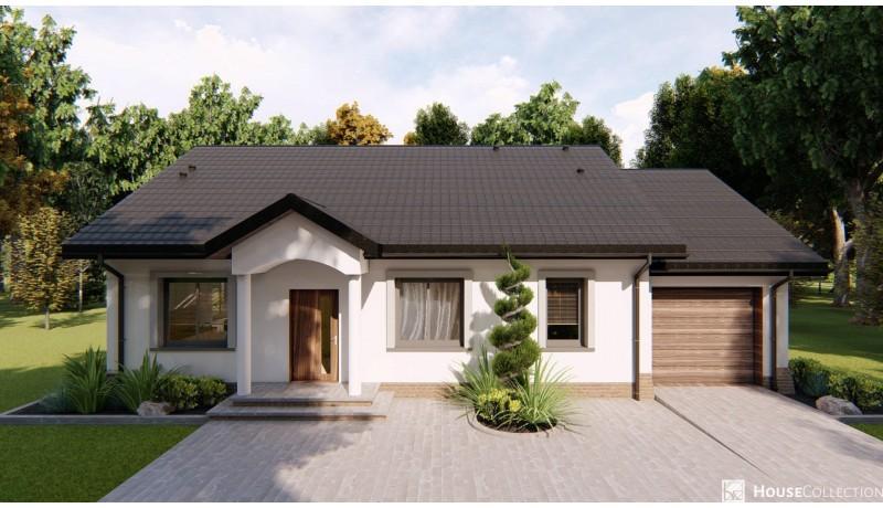 Dom Tuluza - Projekty domów klasycznych