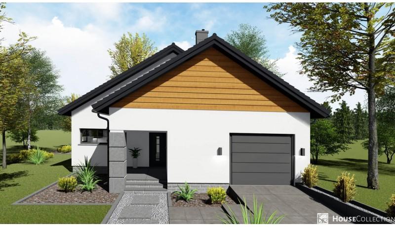 Dom Bursztyn - Projekty domów klasycznych