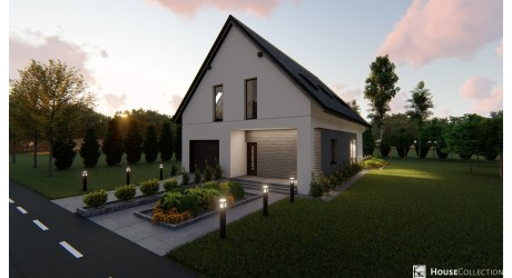 Dom Chester - Projekty domów klasycznych
