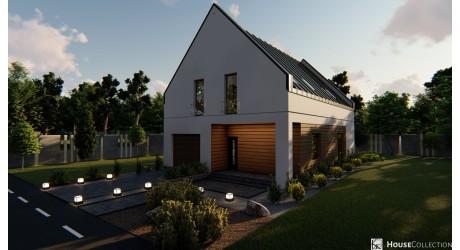 Dom Chester 2 - Projekty domów nowoczesnych