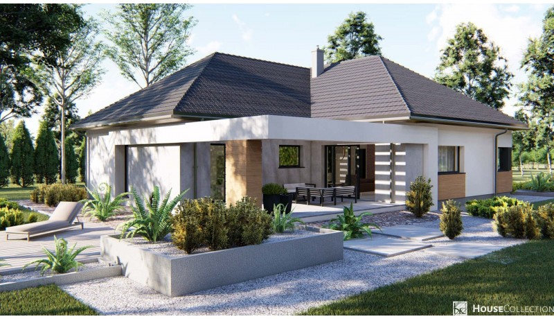 Dom Granit - Projekty domów klasycznych