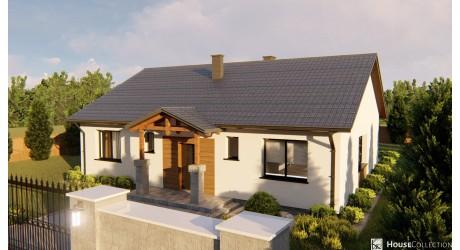 Dom Agat - Projekty domów klasycznych