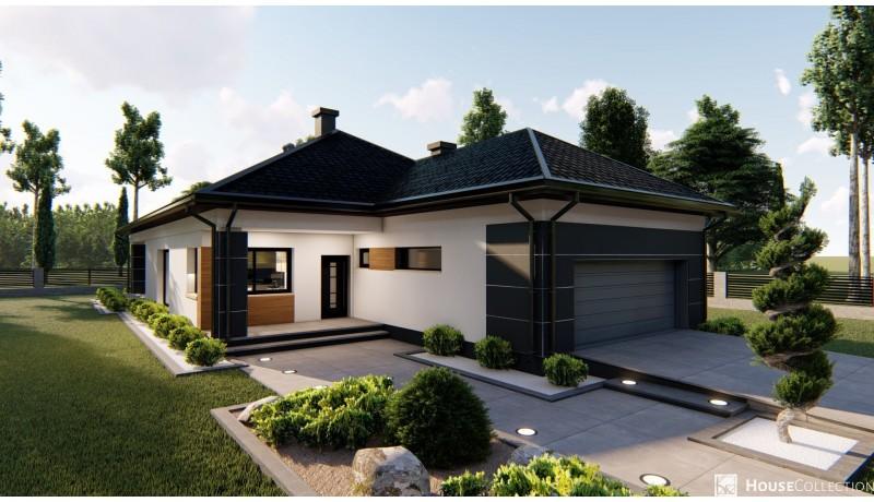 Dom Bursztyn 3 (G2) - Projekty domów klasycznych