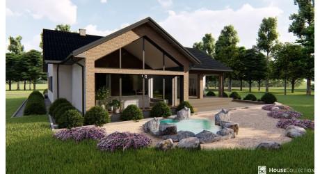Dom Magnetyt - Projekty domów nowoczesnych