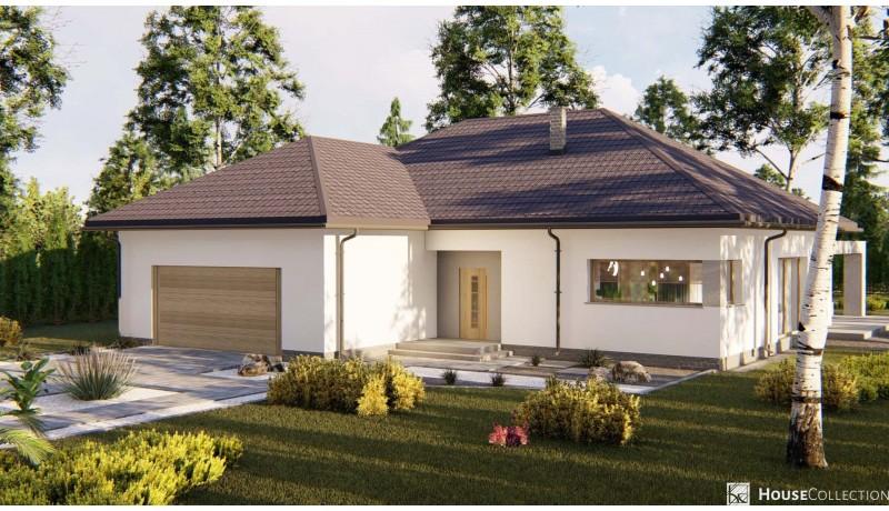 Dom Rubin - Projekty domów nowoczesnych