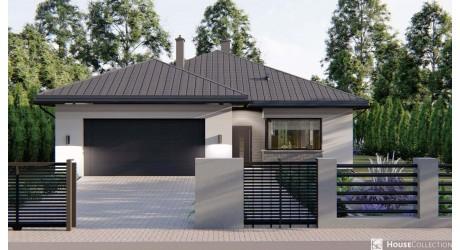 Dom Tanzanit - Projekty domów klasycznych