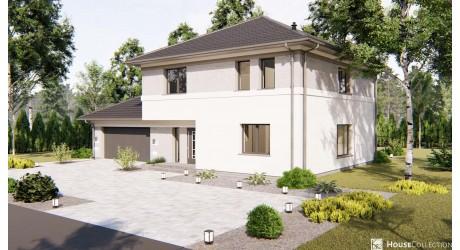 Dom nad Brdą - Projekty domów klasycznych