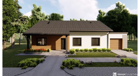 Dom Preston - Projekty domów klasycznych