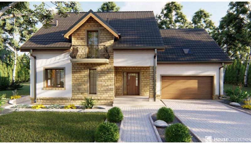 Dom Doncaster - Projekty domów klasycznych