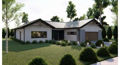 Dom Tuzla - Projekty domów nowoczesnych