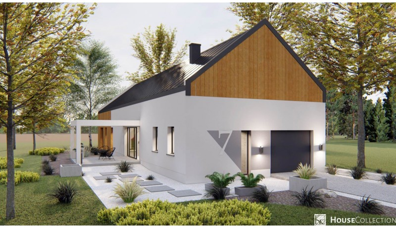 Dom Wasilla - Projekty domów typu stodoła