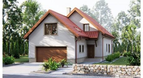 Dom Bergen - Projekty domów klasycznych