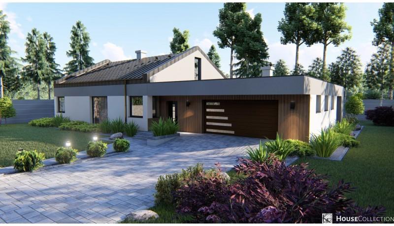 Dom Winchester - Projekty domów typu stodoła