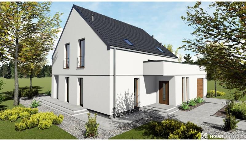 Dom Bari - Projekty domów nowoczesnych