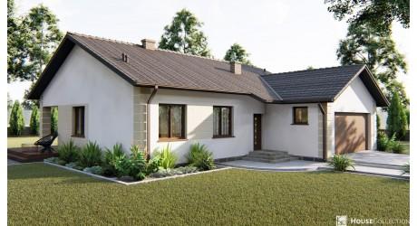 Dom Migmatyt - Projekty domów klasycznych