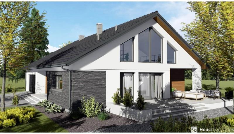 Dom Windsor - Projekty domów nowoczesnych