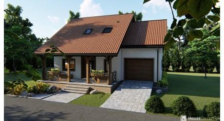 Dom nad Mozą - Projekty domów klasycznych