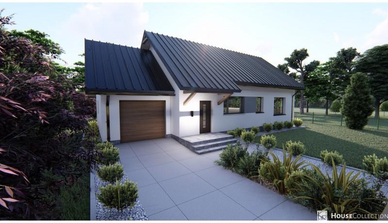 Dom Jaspis - Projekty domów klasycznych