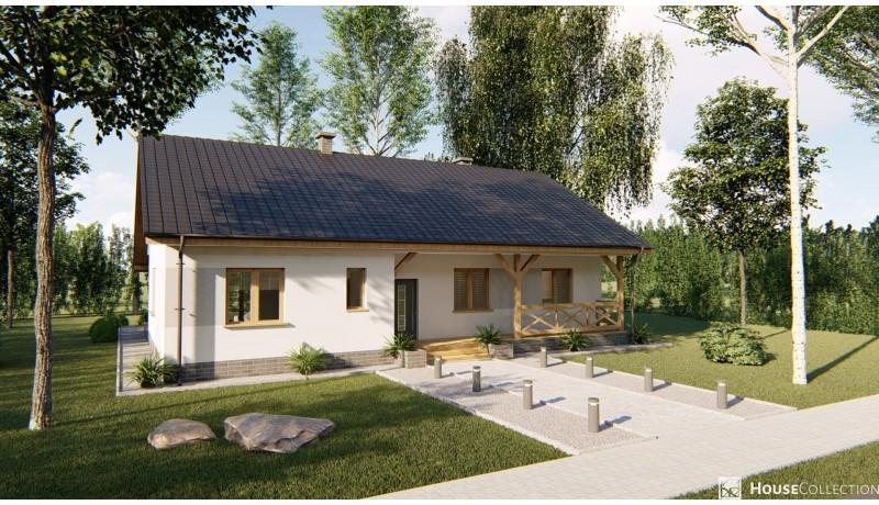 Dom Canberra - Projekty domów klasycznych