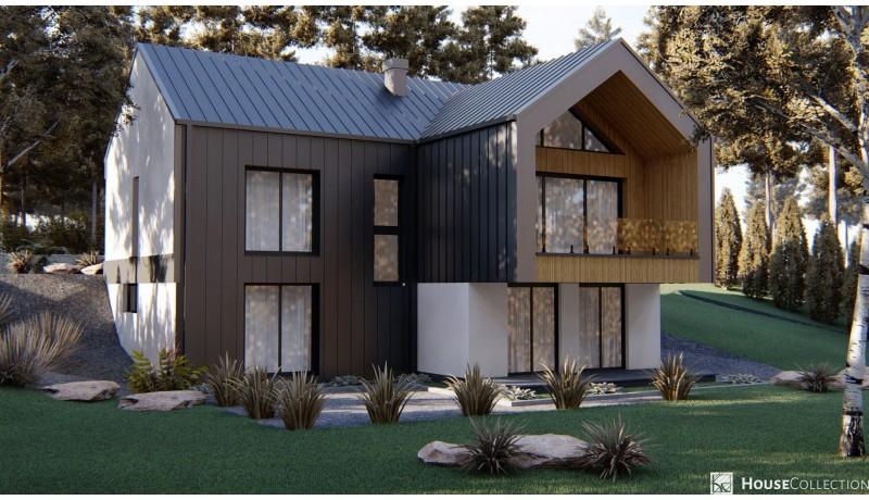 Dom Houston - Projekty domów nowoczesnych