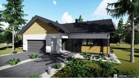 Dom Beryl - Projekty domów klasycznych